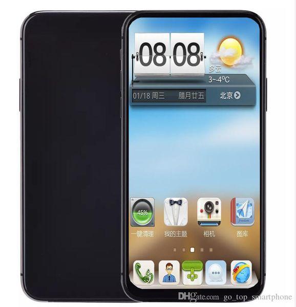 top popular Goophone 11 pro max smartphone Quad Core MTK6580 1GB RAM 4GB ROM 6.5 Inch 3G WCDMA unlocked cell phones 2020
