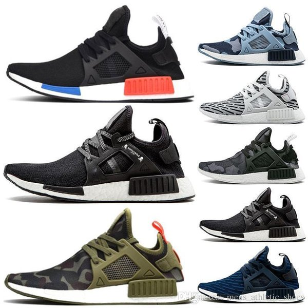 japan Mastermind XR1 canvas shoes Green-camo triple white black OG Zebra off womens running shoes mens trainers sneakers us5-11