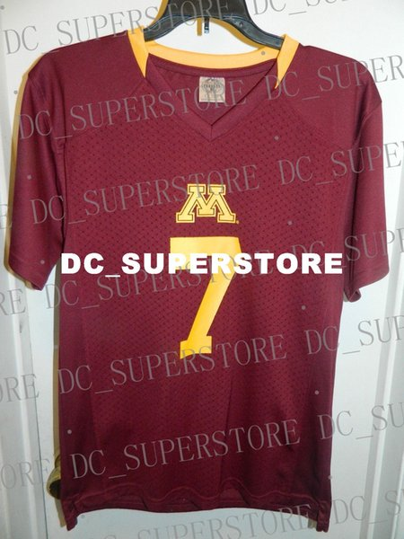Cheap custom MINNESOTA GOLDEN GOPHERS NEW COLLEGE FOOTBALL JERSEY Customized Any name number Stitched Jersey XS-5XL