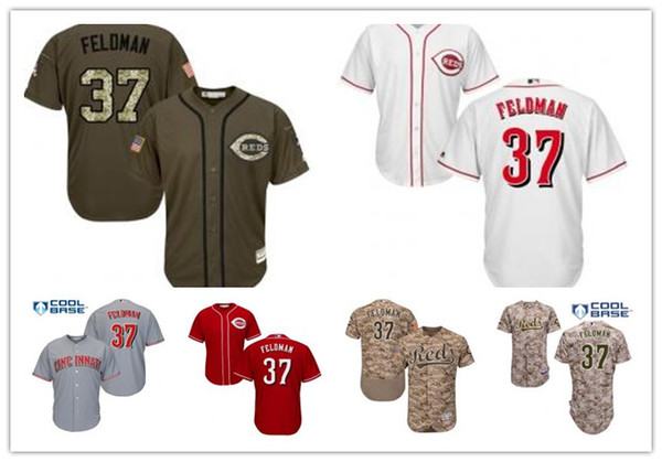 check out 0f27f b7219 2019 Custom Cincinnati Men/Women/Youth Reds 37 Scott Feldman Replica Celtic  Flexbase Authentic Baseball Jerseys From Sportjersey001, $18.28 | ...