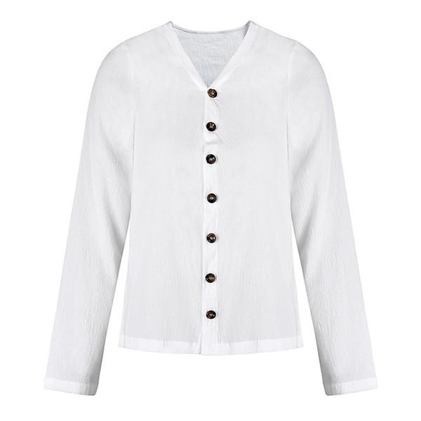 2019 sommer neue mode einfarbig langhülse hemd heißer verkauf tragen langärmelige atmungsaktive knopfhemd baumwolle sonnencreme kleidung BL7982