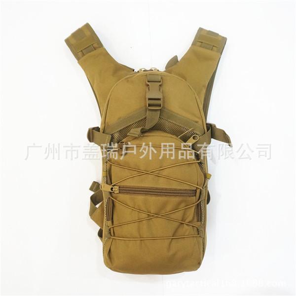 Hidrasyon Sırt Çantası Açık Ride Bagaj Ordu Fanlar Taktik Çanta Sırt Çantası Katkı TPU / Eva İç anda mevcuttur Gen giymek
