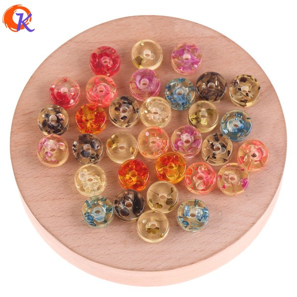 wholesale 5x11mm 200pcs Jewelry Accessories/Resin Beads/Imitation AmberEffect/Coin Beads/DIY/Hand Made/Earring Findings