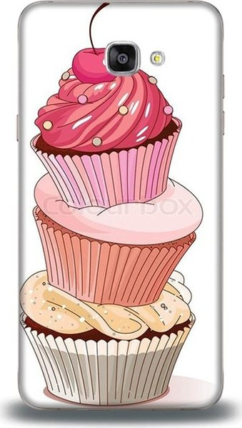 Dynamics for samsung j7 prime cases delicious cup cake pattern cases ship from turkey HB-000849390
