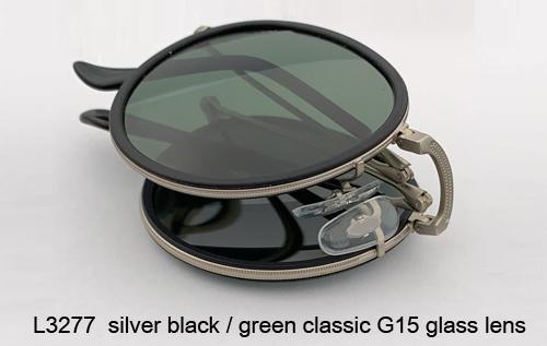 L3277 الفضة أسود / عدسة G15