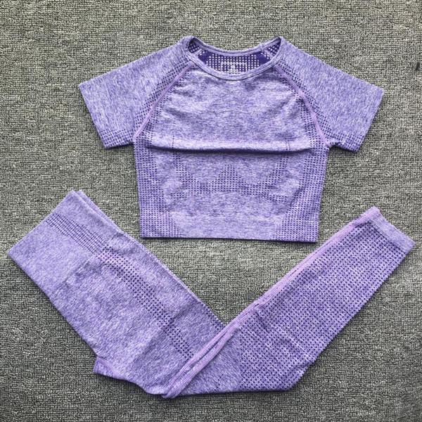Purple Top Leggings