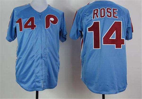 14 Pete Rose Philadelphia zipper