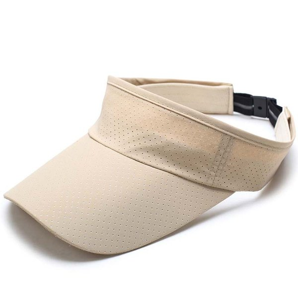 2018 Women Man Quick dry elastic cloth breathable empty duck tongue cap Mesh Running Cap Sun Hat Bone Hats