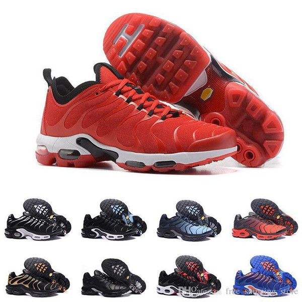Мужчины Новые Плюс Tn Кроссовки Дышащие Кроссовки Мужская Спортивная Обувь Черный Белый Красный Повседневная Открытый мужские Спортивные Кроссовки Размер 40-45