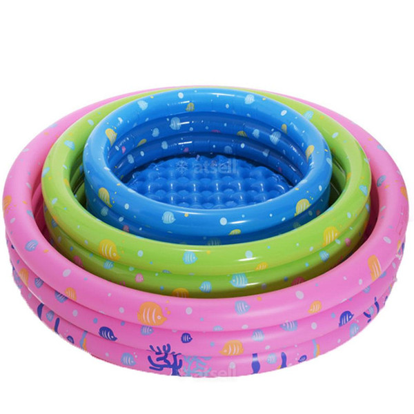New Style High Quality Funny Comfortable Kids Children Inflatable Swimming Pool Summer Baby Water Play Bath Pool 80CM#287591