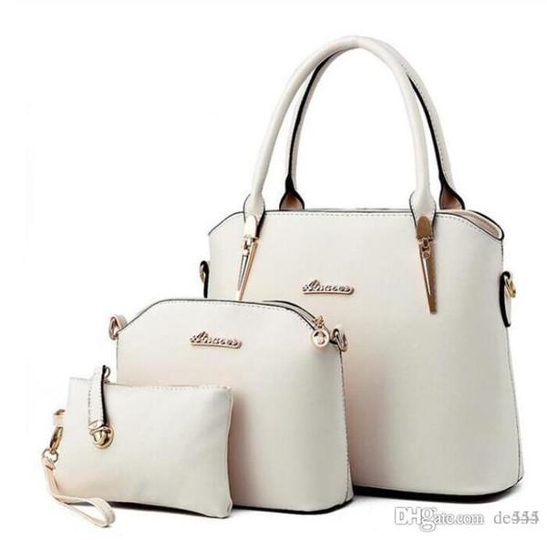 Große Kapazität Tasche Handtaschen Top Griffe 2019 Marke Modedesigner Luxus Taschen Bestseller High Quality Star Style US-Handtasche Preppy Cream