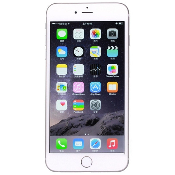 APPLE Unlocked iPhone 6 Plus 16GB 64GB 128GB 5.5 Screen IOS 3G WCDMA 4G LTE 8MP without Touch ID DHL free