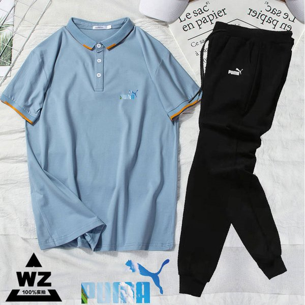 Men Summer Designer Polo Tracksuit Shorts Suit Letters Print Embroidery Short Sleeves Joggers Suit Brand Tracksuit Size M-3XL