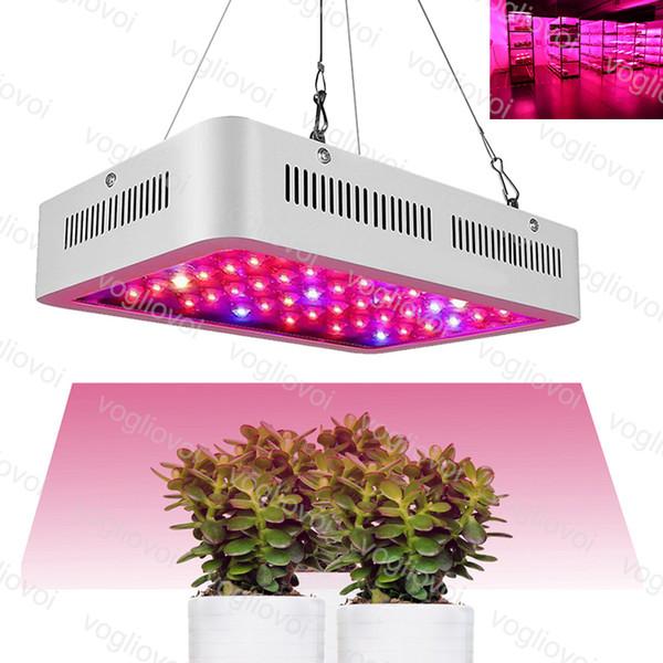 Led Grow Light 300w 720W Full Spectrum Led Grow Tent Covered Green houses Lamp Plant Grow Lamp for Veg Flowering Aluminium DHL