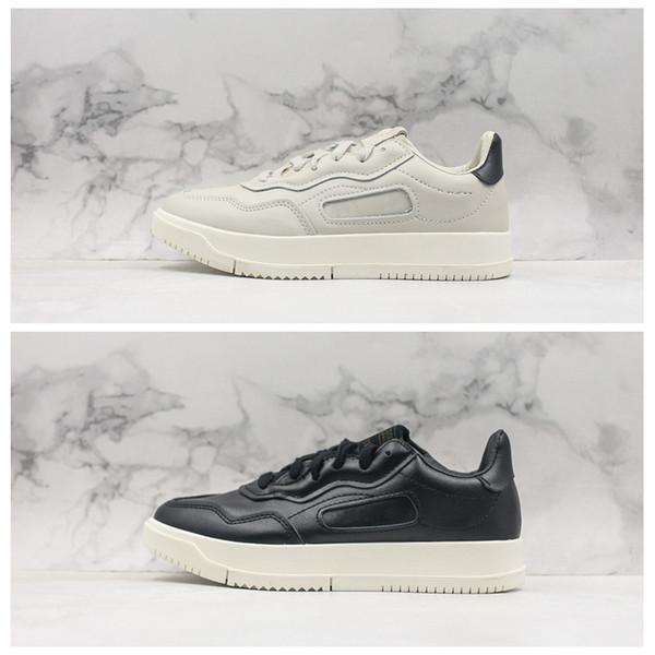 Acheter SC Premiere Raw Plateforme Blanc Noir Blanc Plate Forme Femmes En Cuir Casual Hommes Designer Chaussures Baskets Baskets Taille 36 45 De