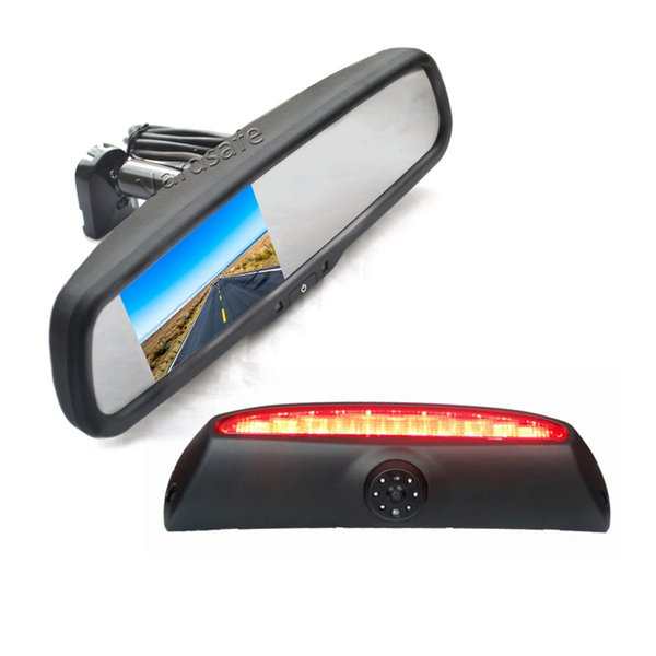 Car Mirror Replacement >> 2019 Vardsafe Vs507r Brake Light Reverse Camera Replacement Rear View Car Mirror Monitor For Iveco Daily Van 2006 2013 From Vardsafe 169 85