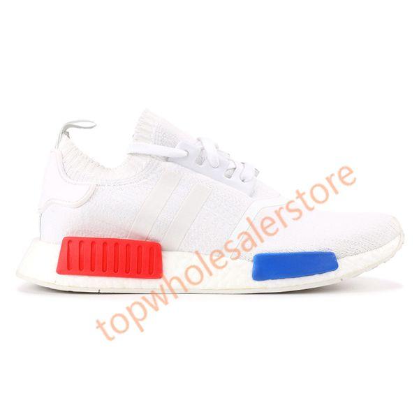 Vintage blanco rojo azul