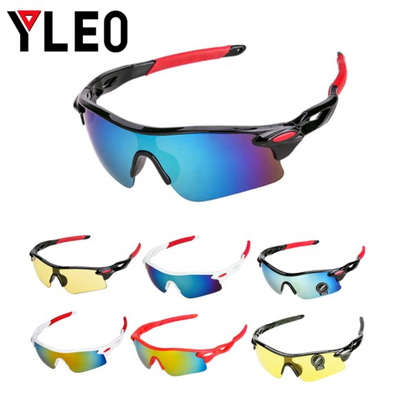 YLEO Outdoor Sport Mountain Bike MTB Bicycle Men Women Eyewear Unisex Sunglasses Bicycle