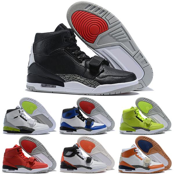 2018 Tasarımcı Sneakers Don C x Jumpman Legacy 312 TRAINER 3 Fırtına Tech Spor Basketbol Ayakkabı Mens için UptempoTrainers BOYUTU 40-46