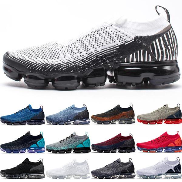 Cheap Xamropav 2.0 Plus Men Women Running Shoes Zebra Triple Black White Tiger Red Orbit Olympic Designer Trainer Sport Sneaker Size 36-45