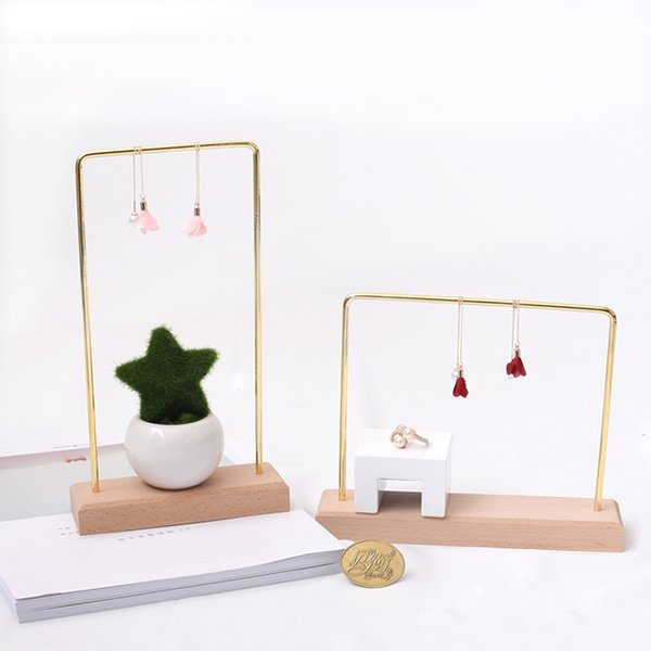 MagiDeal Jewelry Display Rack Stand Holder Earring Hanger Organizer Showcase