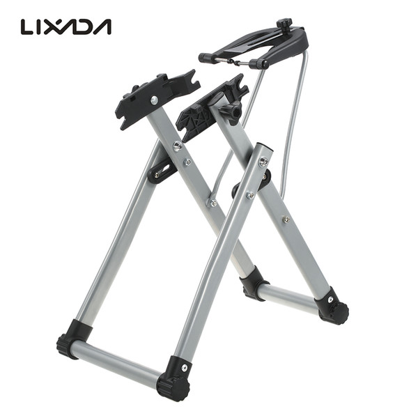 bicycle Lixada Home Mechanic Bicycle Stand Wheel Maintenance Home Truing Stand Holder Support Bike Repair Tool Bicicleta