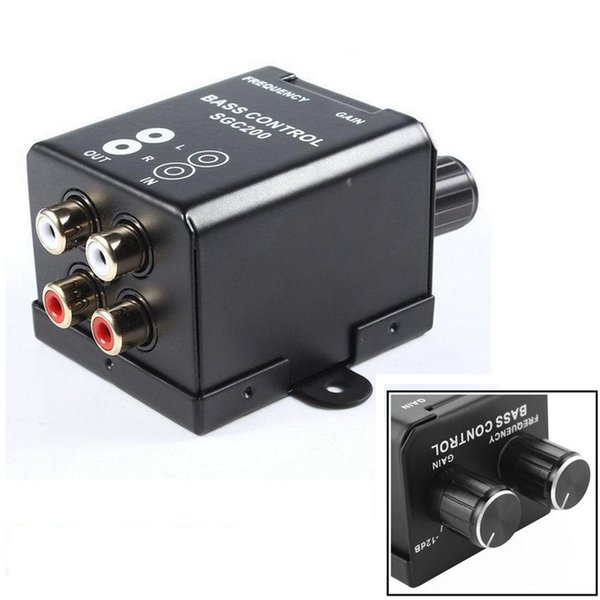 General 12v 150hz Car Audio Amplifiers High Quality Audio Controller Car Accessoriesmotors Amplifier Speakers Bass Controller Regulators