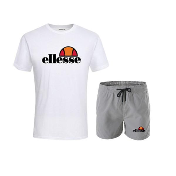 Marka Tasarımcısı Lüks Erkek Eşofman Yaz T-shirt + Pantolon Spor Moda Rahat Setleri Kısa Kollu Koşu Koşu En Kaliteli Artı Boyutu