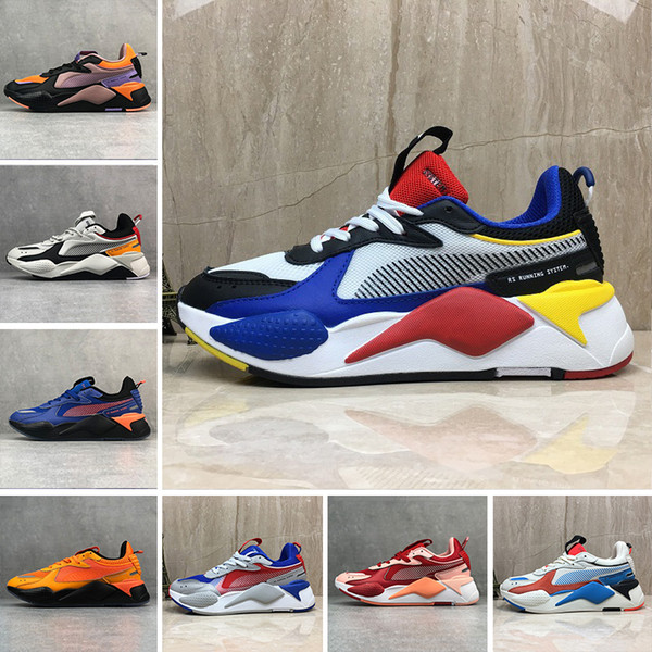 2019 Fashion High Quality RS-X Toys Reinvention Breathable colorful Shoes New Men Women Running Trainer Casual Sneakers designer 36-45
