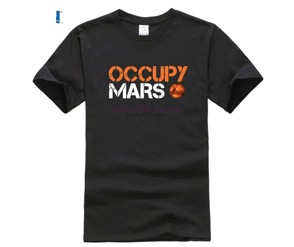 Camisetas Occupy camisetas Espacio X camisetas, Elon Musk hombres de la camiseta pesada SpaceX Falcon camiseta camisa StarmanX Tesla Roadster