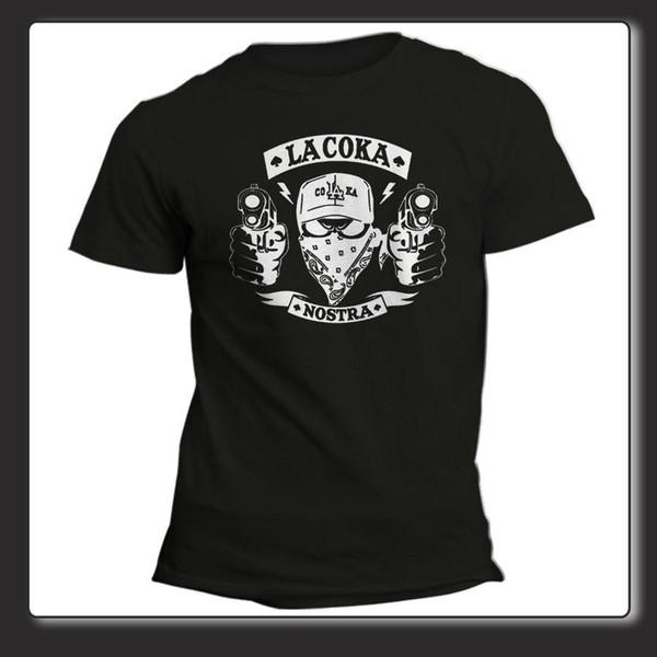 T-shirt Unisexe La Coka Nostra Hip Hop Maison de la douleur USA