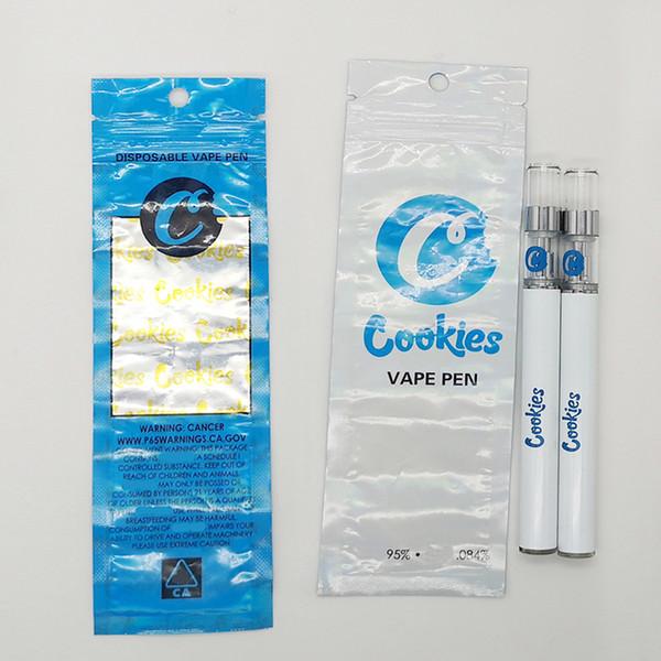 Cookies Vape Cartridges Disposable Vape Pens Vaporizer Kit 350mAh 510 Battery 0.5ml Empty Ceramic Coil Thick Oil Cartridges E cigarettes Kit