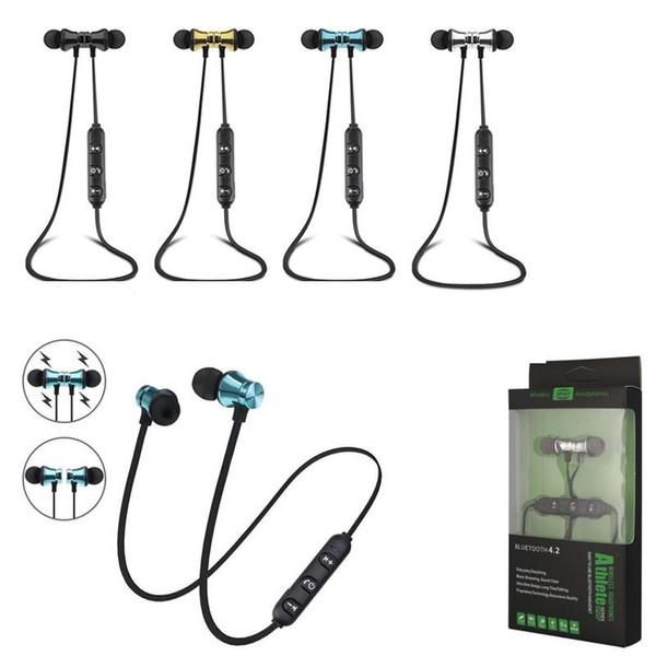 XT11 Беспроводные Bluetooth-наушники магнитные спортивные наушники гарнитура BT 4.2 с мик