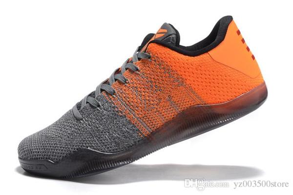 2018 Hot 12 colori Kobe 11 XI Elite BHM Eulogy Nero Cemento scarpe da basket per l'alta qualità KB 11s Mens degli addestratori delle scarpe da tennis Taglia 40-46