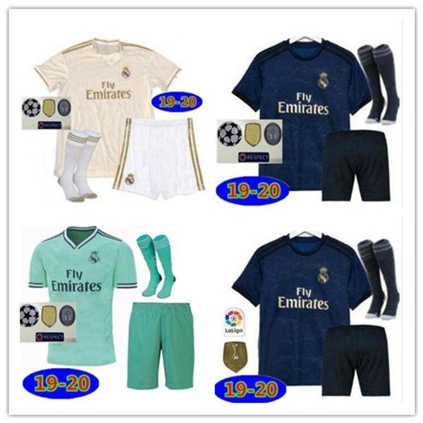 19 20 Trikots von Real Madrid Top-Qualität 2019 2020 Herren MODRIC ASENSIO VINICIUS JR