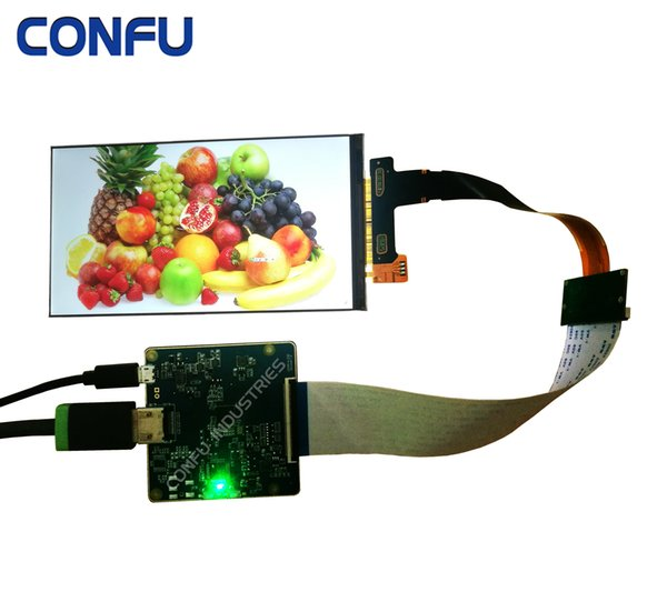 2019 Confu HDMI To MIPI DSI Board For LS060R1SX02 6 Inch 2K 2560*1440 LCD  Panel Screen Apply For 3D Printer Or Projector VR HMD AR Etc  From Confu,