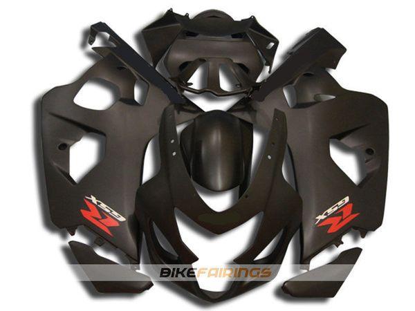 High quality New ABS motorcycle bike Fairings Kits Fit For Suzuki GSXR600 750 600 750 K4 2004 2005 04 05 bodywork set custom matte black