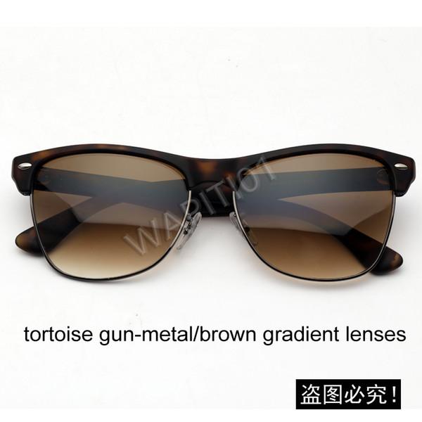 Tortue / gradient brun