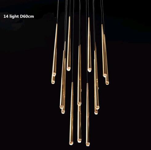 14 ışık 60 cm'lik ışık