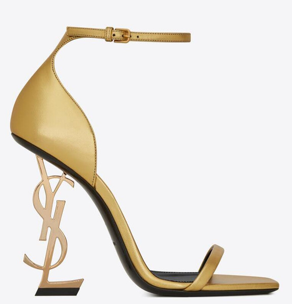 TOP élégant ligne boucle style exquis stiletto sandales à talons dames confortable talons hauts mode designer de luxe femmes chaussures