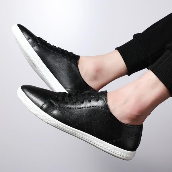 Moda Novos Homens Sapatos Casuais Respirável Resistente Ao Desgaste lace-up flats Sapatos Confortáveis Dedo Do Pé Redondo todos os loafers temporada w4