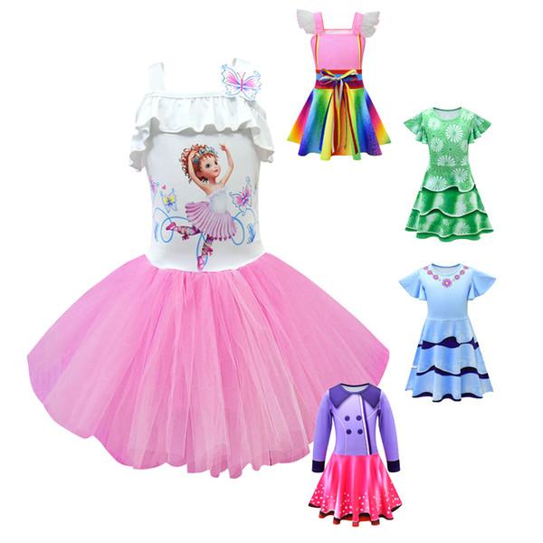 Nancy Fancy Dress Party Halloween Costume Nancy cosplay Dance Inspired Dress Infant Ballet Girls costume birthday