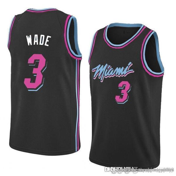new concept ea7ba 9e05b 2019 New 3 Dwyane # Wade Heat Jersey 25 Derrick # Rose Timberwolves 23  Jimmy # Butler 21 Joel 76ers Embiid Jerseys From Topmensjersey2018, $22.04  | ...