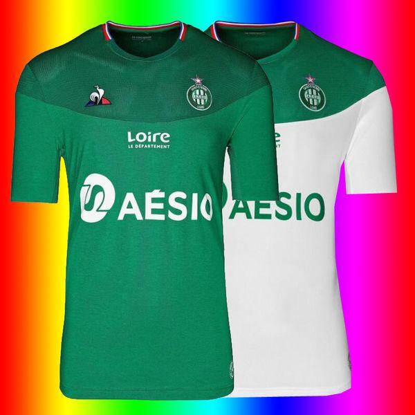 2019 2020 as Camisolas de Futebol Saint-Etienne KHAZRI Camisolas de Futebol Camisa de Futebol 19 20 Camisolas de Futebol da Ligue 1 Saint-Etienne Camisolas de Homem