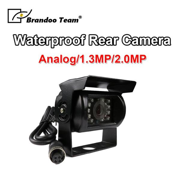 Caméra de recul pour camion de caméra de vue arrière de voiture noire de couleur noire 18 LED IR vision nocturne 12V
