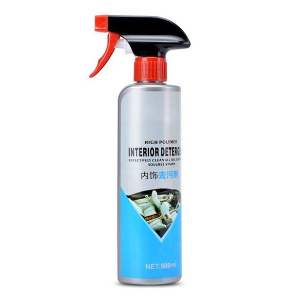 500ml Ceramic Nano Car Interior Cleaning Agent Pro Auto Velvet Fabri Automotive Leather Seat Plastic Foam Cleaner Car Care Products Car Care Products