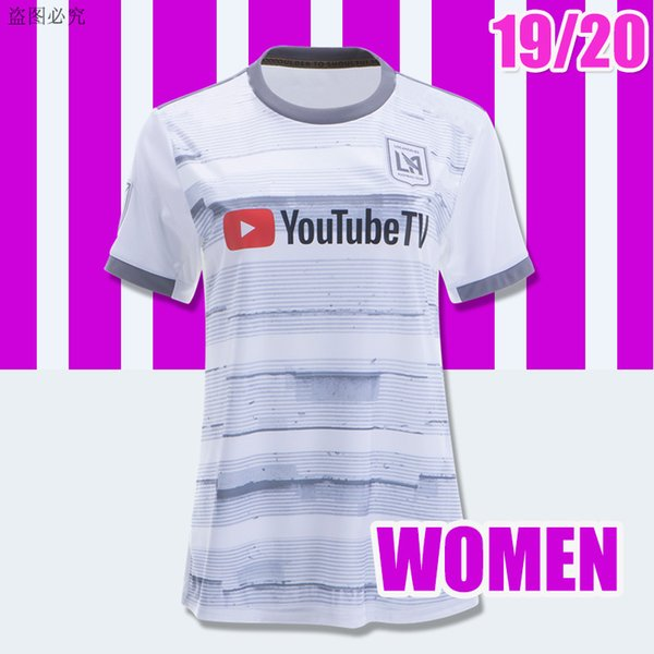 las mujeres LAFC 19 20 Lejos blanco