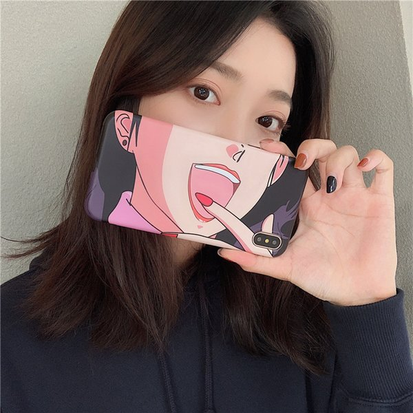 ins Fashion Special Cellphones Case for iphone XS Max XR Soft Case for iphone 6s 7 8 Cellphone Cover