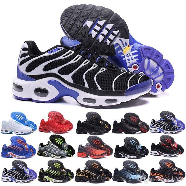 New TN Plus Se Women Mens running shoes tns black Pink orange tns sports shoes Mesh White chaussures trainger designer sneakers JK-6FT7