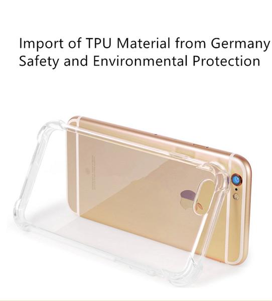 Neuer Mobiltelefonkasten. Seitlicher Eckairbag-Handyfall, Anti-fallender Handyfall, TPU-Handyrahmen schützend